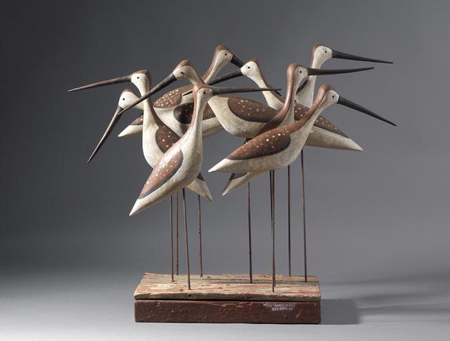 , 'Nine Shorebirds I,' , Dowling Walsh
