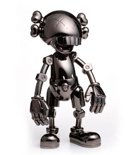KAWS, 'No Future Companion  collaboration with Hajime Sorayama (Black Chrome)', MSP Modern