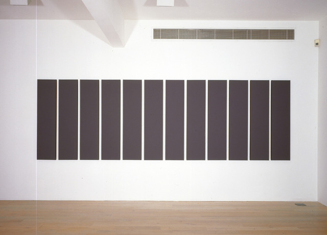 , 'Painting in Twelve Vertical Parts,' 2006, Annely Juda Fine Art