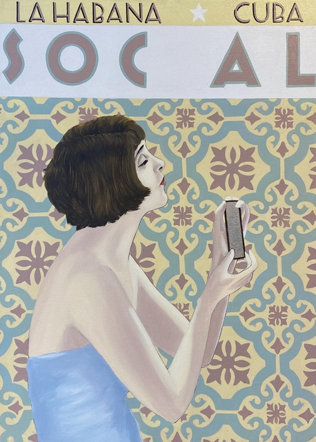 """Andres Conde, 'SOCIAL Losas """"I""""', 2020, Painting, Oil on Canvas, Conde Contemporary"""