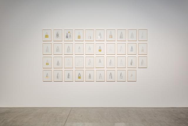 , 'Memory Drawings,' 2015-2016, Lawrie Shabibi