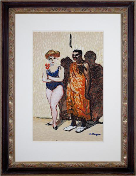 , 'Les Artistes du Cirque,' 1904, David Barnett Gallery
