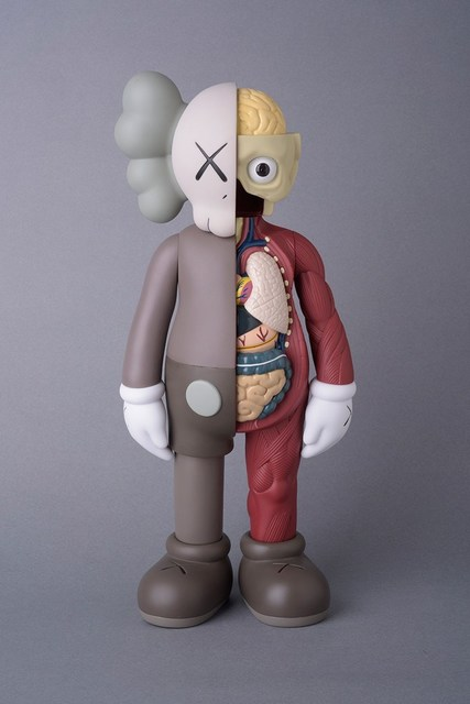 KAWS, 'COMPANION BROWN (FLAYED) (OPEN EDITION)', 2016, Marcel Katz Art