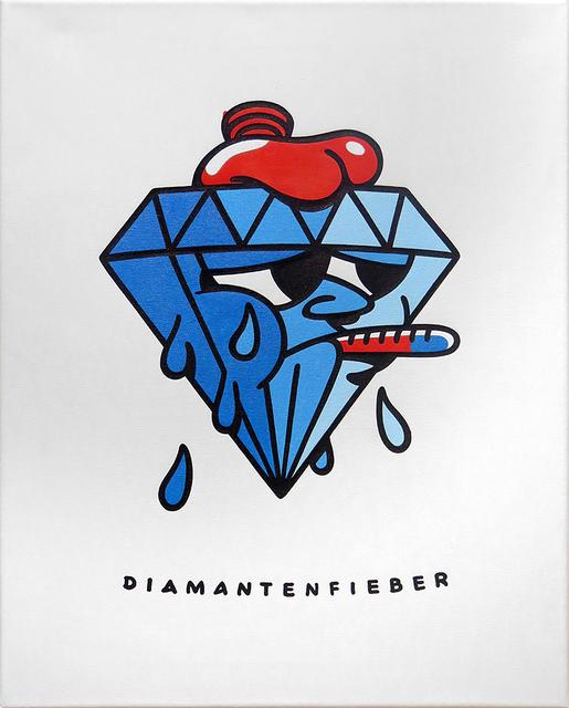 , 'Diamantenfieber,' 2018, KOLLY GALLERY