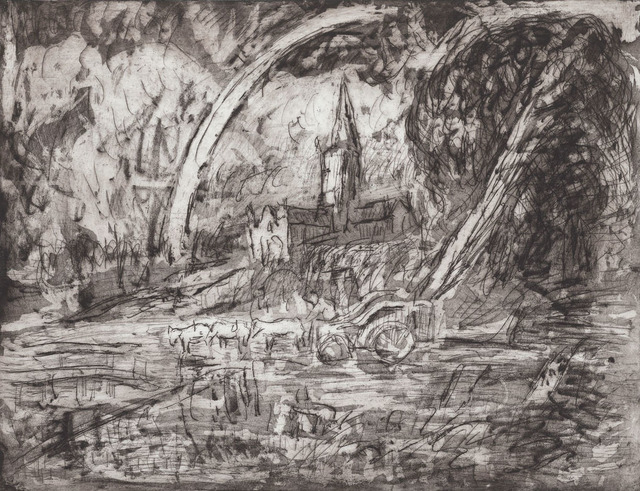 , 'From Constable 'Salisbury Cathedral from the Meadows',' 1988, Annely Juda Fine Art