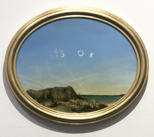 Kevin Sloan, 'It's OK', 2021, Painting, Acrylic on canvas, Clark Gallery