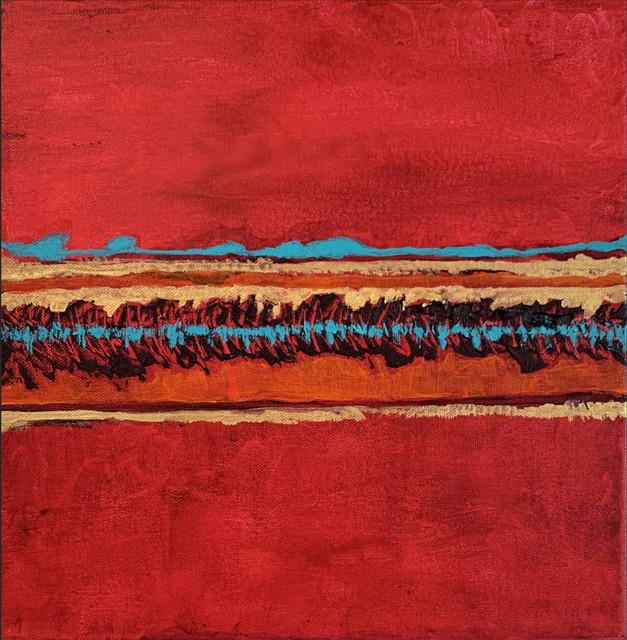 , 'Where The Crimson Sun Seeks Rest,' 2019, The Directed Art Modern