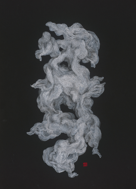 Li Chen, '黑卡 197.13-2 Black Cardboard 197.13-2', 2019, Painting, Mixed Media, Asia Art Center