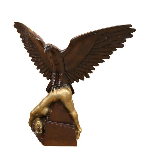 Arturo Di Modica, 'Hawk with Woman', 1988, Sculpture, Patinated Bronze Sculpture, RoGallery
