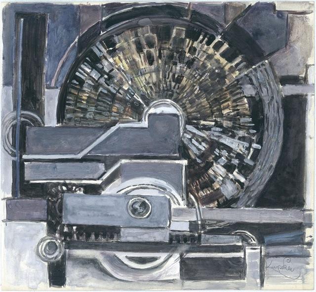 , 'Etude pour Musique,' 1930-1932, Galerie Zlotowski