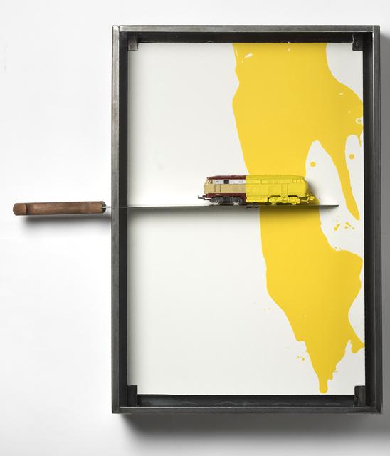 , 'Untitled (Train and Knife),' 2015, Carolina Nitsch Contemporary Art
