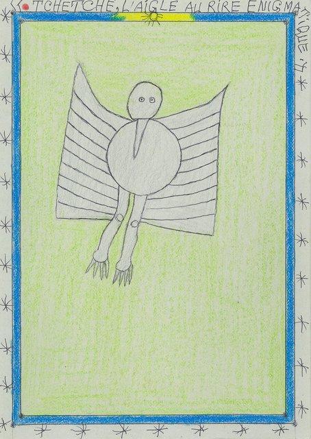 , 'Tchétché, l'aigle au rire énigmatique,' 2005, galerie du jour agnès b.