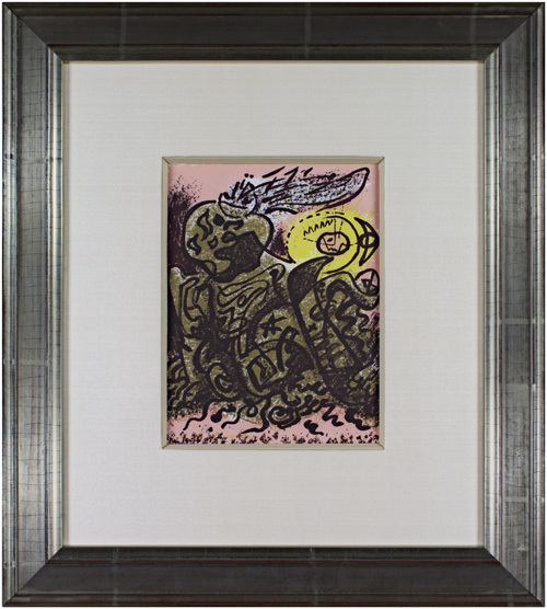André Masson, 'Caliban', 1975, David Barnett Gallery