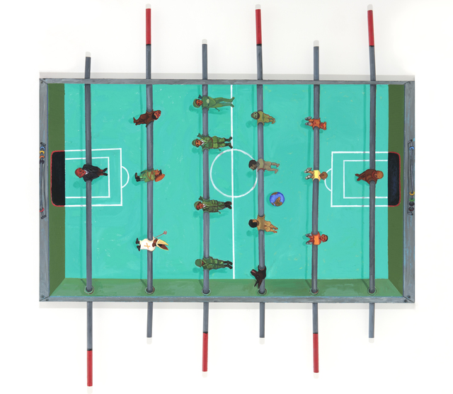 , 'World Cup,' 2017, Barnard