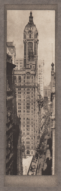 , 'The Singer Building, Noon,' Neg. date: 1909 c. / Print date:1909, Alan Klotz Gallery