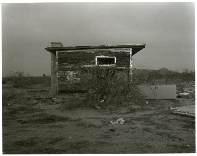 Mark Ruwedel, 'Dusk #33 (Antelope Valley #294B)', 2010, Photography, Gelatin Silver Print, Yossi Milo Gallery