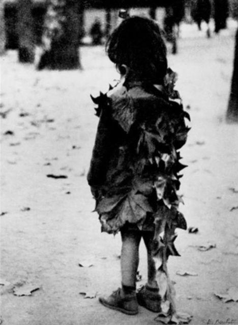 , 'La petite fille aux Feuilles Mortes, Jardin de Luxembourg, Paris,' 1948, HackelBury Fine Art