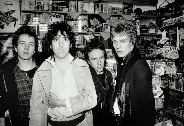 , 'The Clash (in a Shop), London,' ca. 1976, ElliottHalls