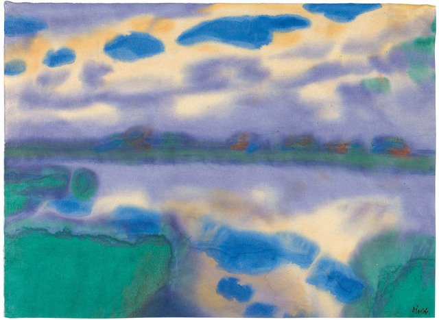 Emil Nolde, 'Afternoon by the water', 1930/1935, Galerie Kovacek & Zetter