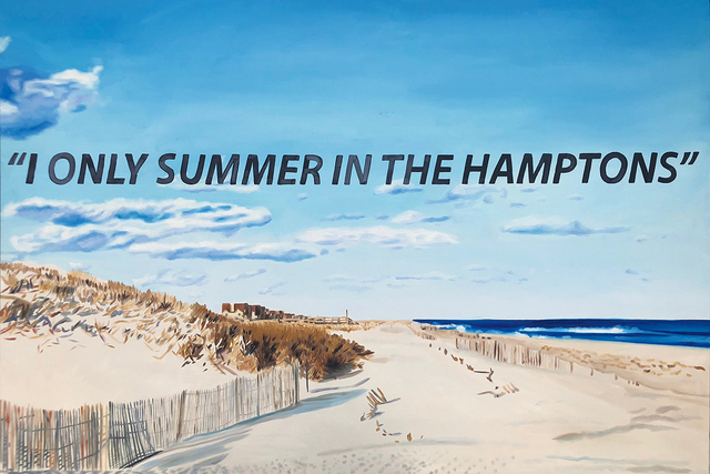 , 'I Only Summer in the Hamptons,' 2018, Roman Fine Art
