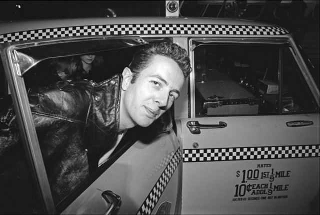 , 'The Clash arrive at JFK - Joe Strummer getting into a taxi,' 1981, Madelyn Jordon Fine Art