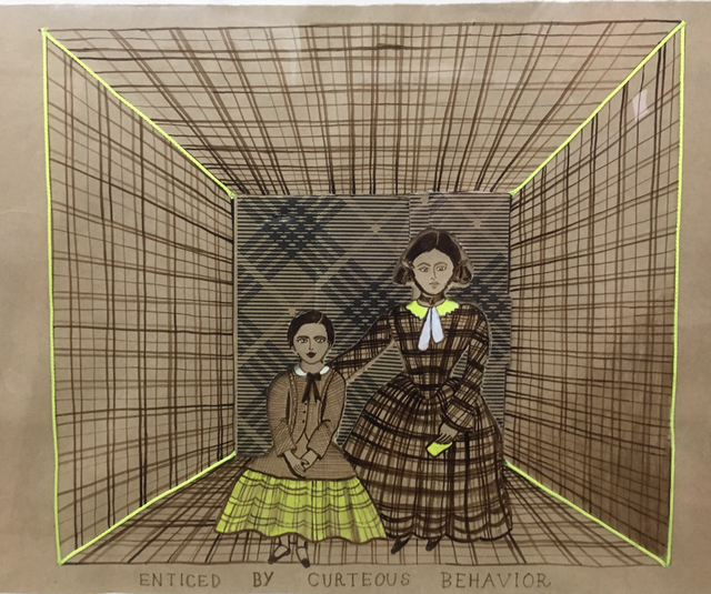 Joan Ross, 'Enticed by curteous behaviour', 2019, Bett Gallery