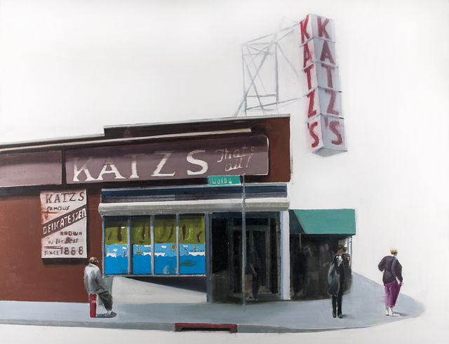 , 'Katz Deli,' 2015, Jonathan LeVine Projects