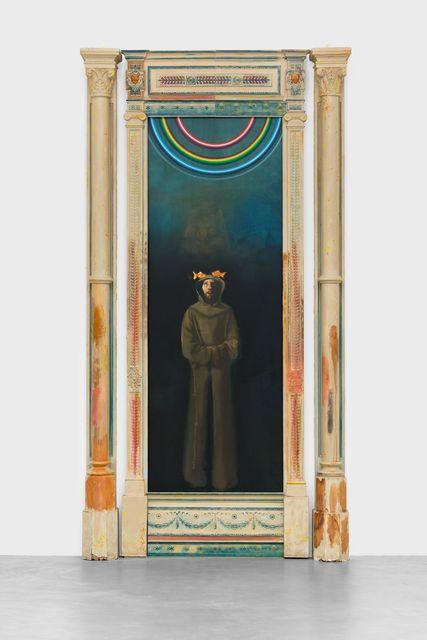 , 'Blub (To T),' 2018, Almine Rech Gallery