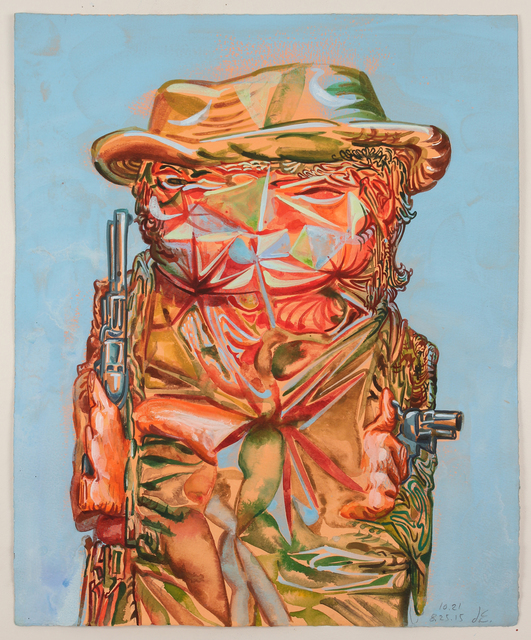 , 'Untitled (Two Gun Cowboy),' 2015, Pierogi