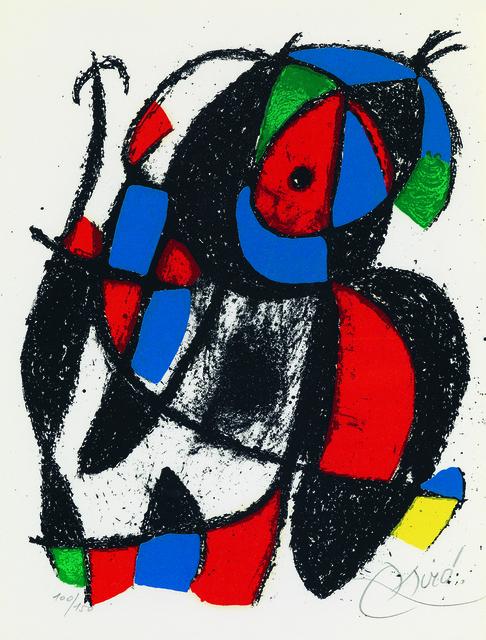, 'Sans titre (from Lithographe II),' 1975, Galerie Raphael