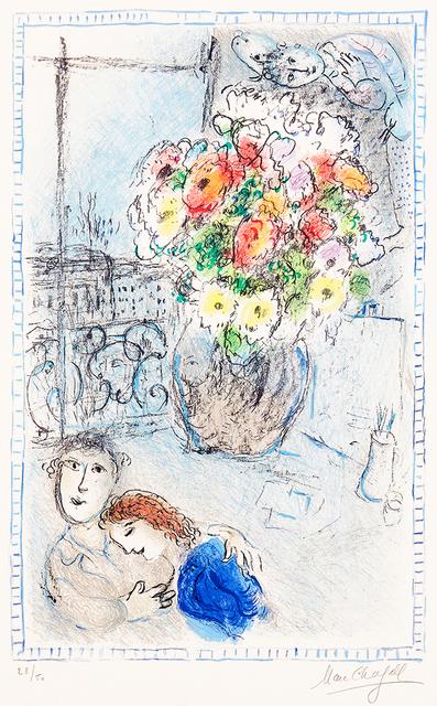 Marc Chagall, 'The Buttercups', 1973, Masterworks Fine Art