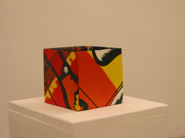 Pierre Bismuth, 'Origami boxes: one thing made of another, one thing used as another (Gilbert & George)', 2004, Christine König Galerie
