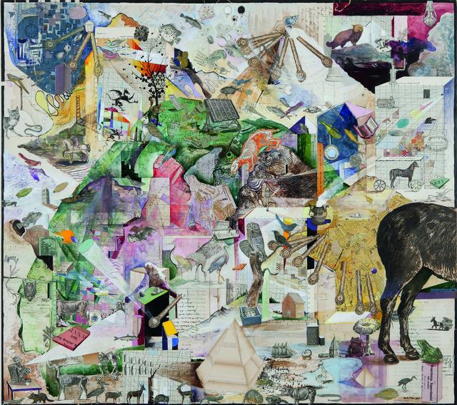 Josh Dorman, 'Tailspin', 2009, International Collage Center