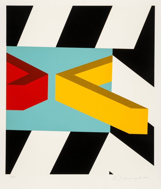 Allan D'Arcangelo, 'Caves', 1979, Heritage Auctions