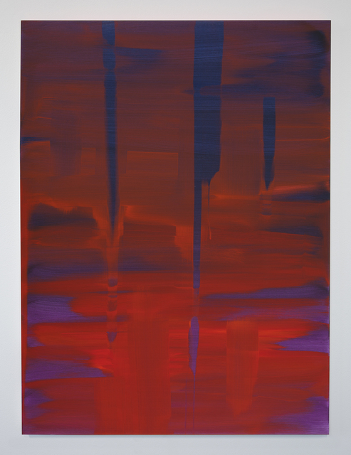 , 'Reflect (Alizarin Crimson-Blue-Violet),' 2018, Night Gallery