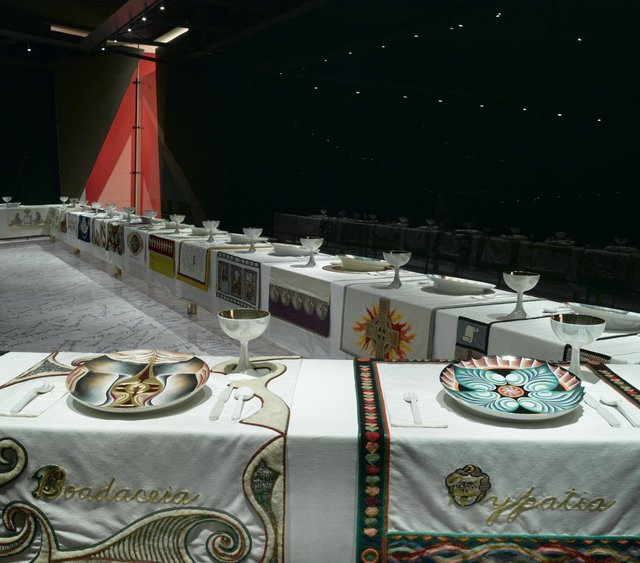 Judy Chicago, 'The Dinner Party', 1979, Mixed Media, Mixed media, Brooklyn Museum