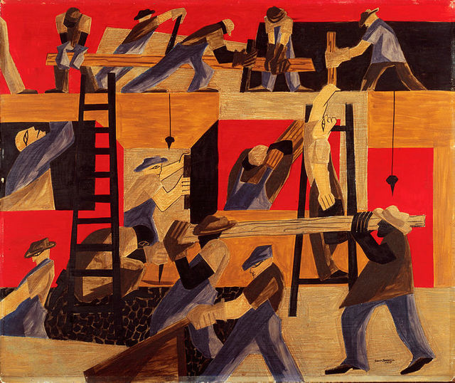 , 'The Builders,' 1947, White House Historical Association