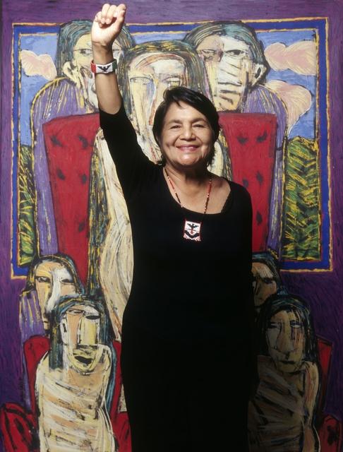 , 'Dolores Huerta,' 2004, Cross Mackenzie Gallery
