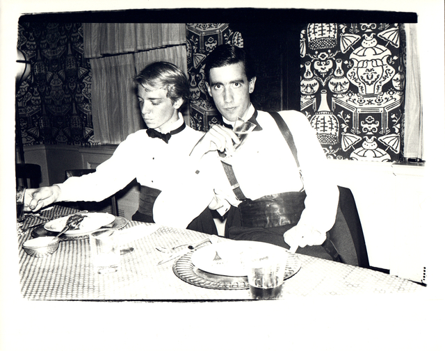 Andy Warhol, 'Andy Warhol, Photograph of James Curley and an Unidentified Man circa 1980', ca. 1980, Hedges Projects