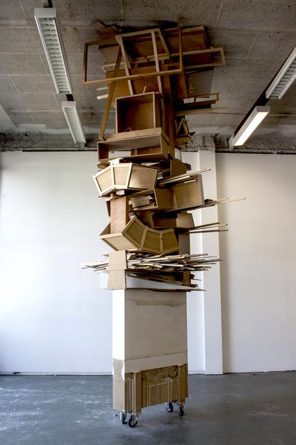 , 'Column,' 2011, C&H gallery