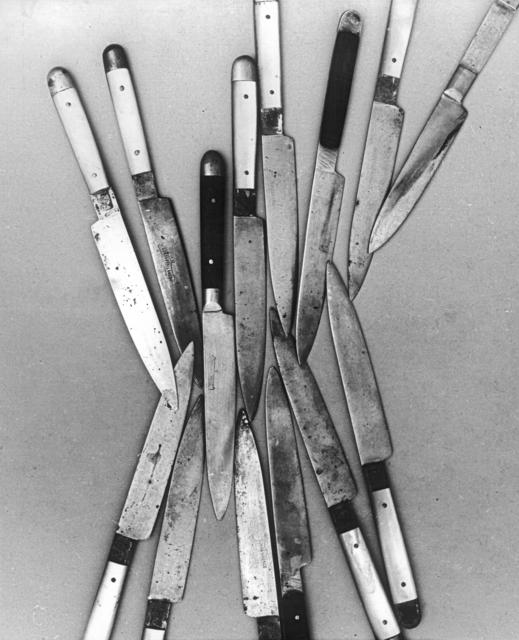 , 'Messer,' 1974, Collection Regard