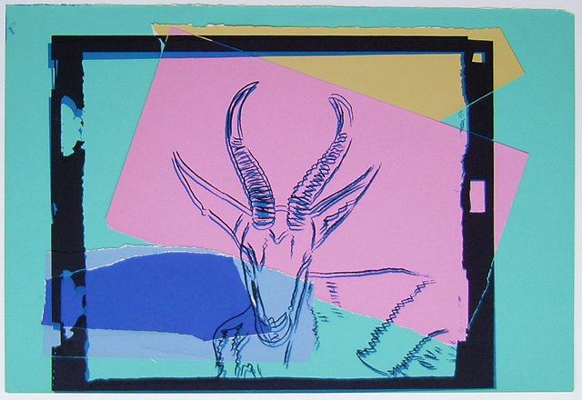 , 'Vanishing Animals -- Sommering Gazelle (1),' 1986, Hamilton-Selway Fine Art