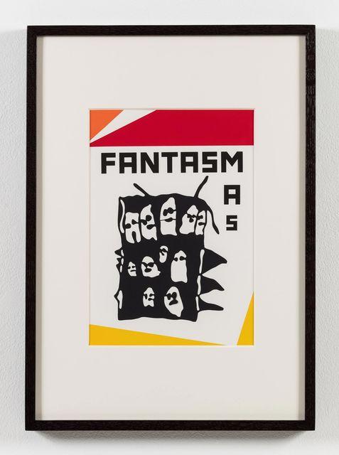 , 'O nome do medo (recorte): Fantasmas / The Name of Fear (cut-out): GhostS,' 2017, Stephen Friedman Gallery