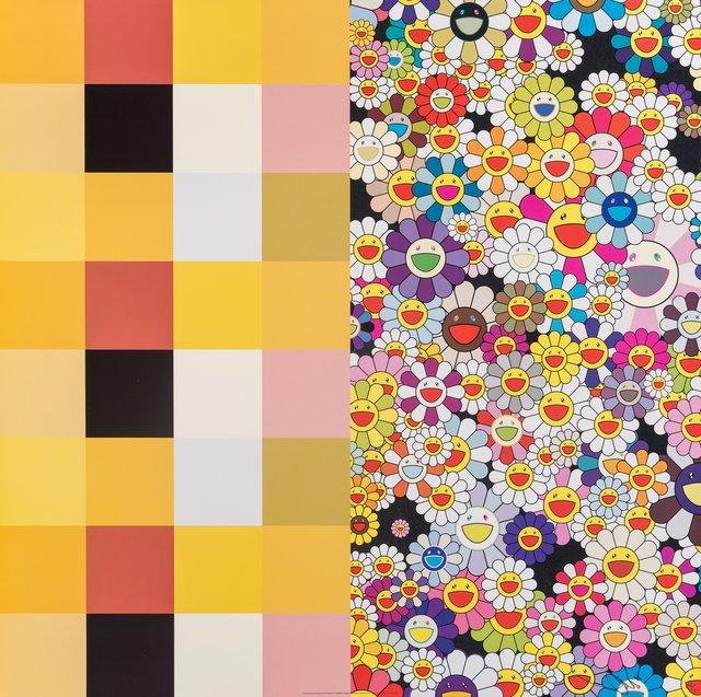 Takashi Murakami, 'Acupuncture/Flowers (Checkers)', 2008, Heritage Auctions