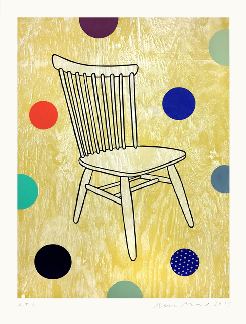 , 'Empty Chair,' 2015, Tandem Press