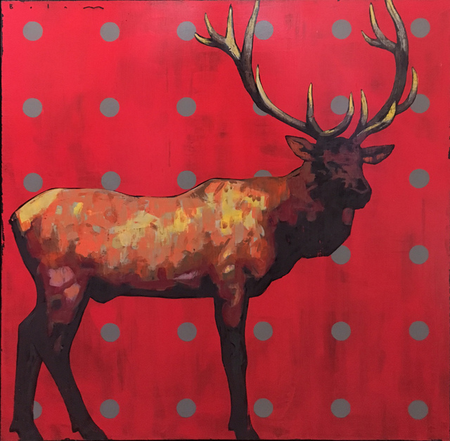 , 'Wapiti,' 2017, Valley Fine Art