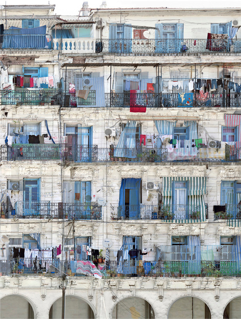 ", 'Série ""Melting point"",  Babel Oued n°5 (Place Nelson n°1), Alger,' 2016, Galerie Kornfeld"