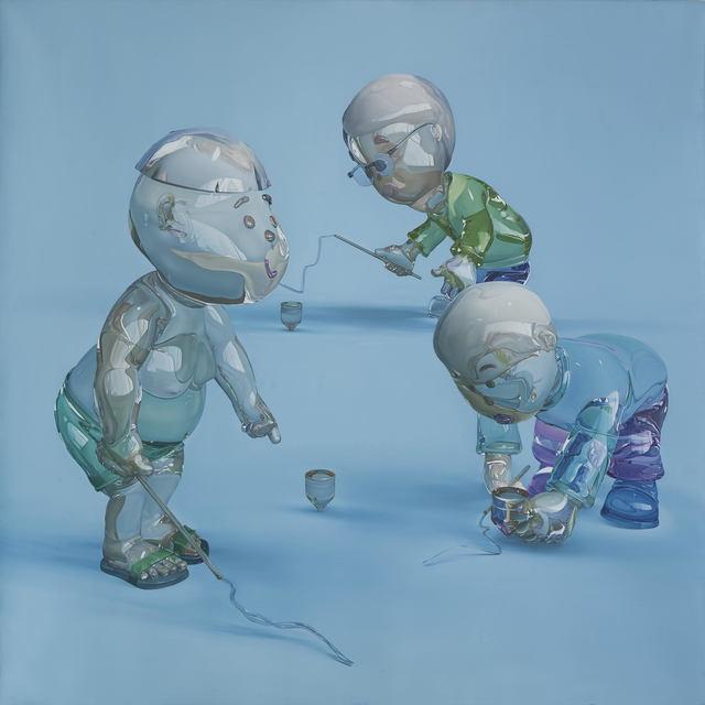 Zhang Jinxi, 'Spinning Tops', 2000-2010, Illuminati Fine Art