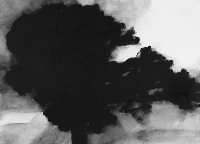 , 'Chêne avant l'orage,' 2016, La Forest Divonne