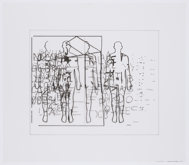 , 'surfaced. While passing,' 2003, Reynolds Gallery